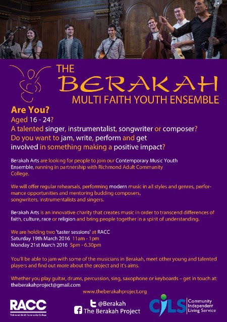 Youth Ensemble taster sessions